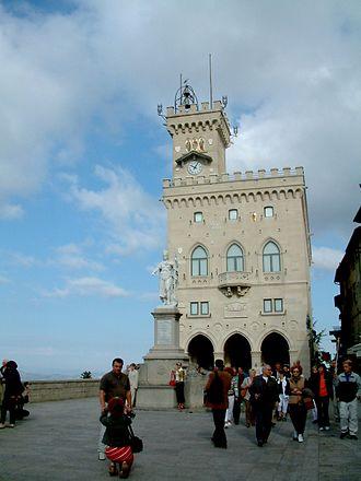 City of San Marino - Image: San Marino ratusz
