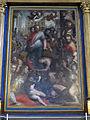 San bartolomeo a monte oliveto, int., altare maggiore, cristo e l'emorroissa del poppi 02.JPG