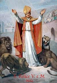 Resultado de imagen para San Félix de Nola