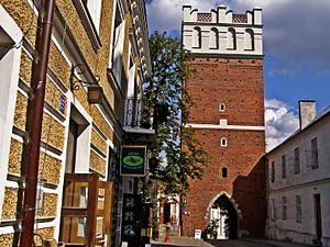 Sandomierz - Opatów Gate