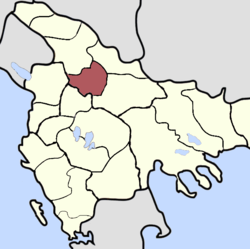 Location of Sanjak of Prizren