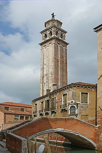 Carmini - The bell tower.