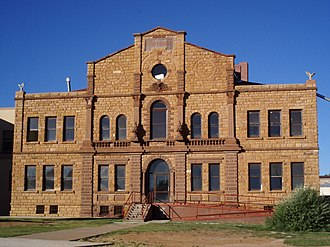 National Register of Historic Places listings in Guadalupe County, New Mexico - Image: Santa Rosa Courthouse
