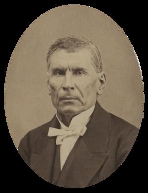Santiago Vidaurri - Santiago Vidaurri, c.1867
