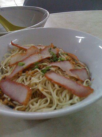 Sarawakian cuisine - Kolo mee