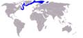 Sattelrobbe-Phoca groenlandica-World.png