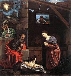 Girolamo Savoldo: The Adoration of the Shepherds
