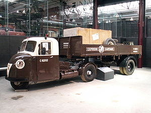 Scammell - Scammell Scarab and trailer – Steam Museum, Swindon