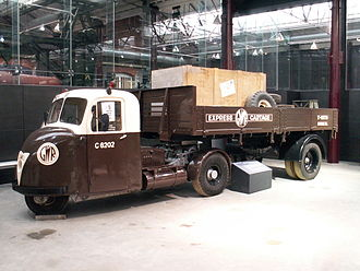 Scammell - Scammell Scarab and trailer at Museum of the Great Western Railway, Swindon
