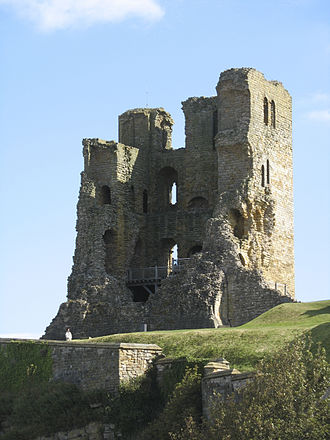 Scarborough Castle - The 12th-century keep