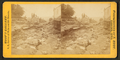 Scenes of the destruction from the Catfish Creek flood, 1876. Dubuque, Iowa, by Root, Samuel, 1819-1889.png