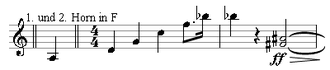 Quartal and quintal harmony - Six-note horizontal fourth chord in Arnold Schoenberg's Chamber Symphony Op. 9