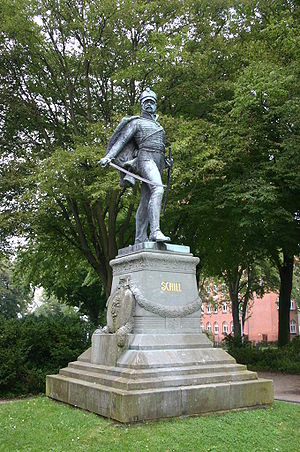 Battle of Stralsund (1809) - Image: Schill Statue