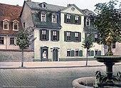 Schillerhaus (Esplanade) um 1900 (Quelle: Wikimedia)