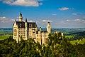 Schloss Neuschwanstein im Schwangau, Füssen, Ostallgäu-1-3 (10919881846).jpg