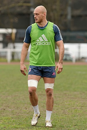 Scott LaValla - Scott LaValla training with Stade Francais in 2013