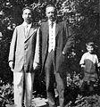 Scriabin A.N & Julian, Yuri Baltrushaytis 1913 Petrovskoe.jpg