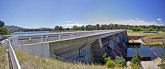 Scrivener Dam - Scrivener Dam, near the National Zoo & Aquarium in Yarralumla, 2009.