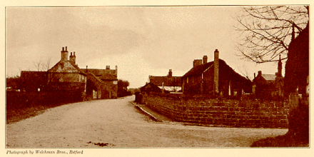 "The village of Scrooby, England circa 1911, home to the ""Saints"" until 1607 Scrooby village addison.PNG"