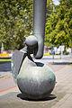 Sculpture Grosses Rufzeichen Fritz Koenig Schiffgraben Hanover Germany 02.jpg