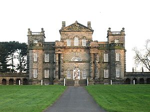 Seaton Delaval Hall – corps de logis viewed from the north