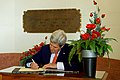 Secretary Kerry Signs the Guestbook After Presenting U.S. Medals to Members of New Zealand's Armed Forces in Wellington (22769809788).jpg