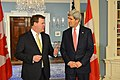 Secretary Kerry and Canadian Foreign Minister Baird Address Reporters (11999732543).jpg