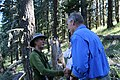 Secretary Zinke hikes the Pacific Crest Trail (35118867084).jpg