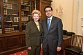 Senator Stabenow meets with Dr. Anand Parekh, MD MPH (33309513135).jpg