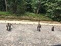 Sepanjang jalan taman nasional way kamabas terdapat monyet liar.jpg