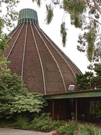 North Hills, Los Angeles - Sepulveda Unitarian Universalist Society Sanctuary, also known as The Onion, built in 1964