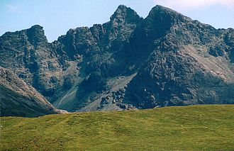 Inner Hebrides - Sgurr Alasdair, the highest peak in the Inner Hebrides