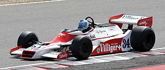 Shadow DN9 - The DN9 in 1978 trim, as raced by Clay Regazzoni