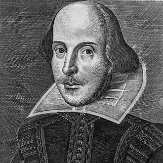 Portraits of Shakespeare - The Droeshout Portrait of William Shakespeare, from the First Folio