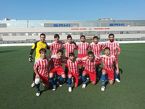 Shamkir FC - The club squad during Azerbaijan First Division