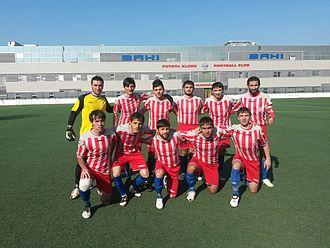 Shamkir FC - The club squad during Azerbaijan First Division