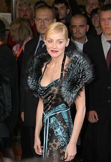 Sharon Stone al Festival Internazionale del cinema di Karlovy Vary 2005