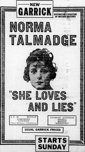 She Loves and Lies - Image: She Loves and Lies (1920) 2
