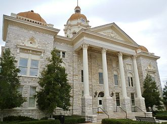 Columbiana, Alabama - Image: Shelby County, Alabama Courthouse