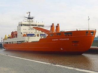 Akademik Tryoshnikov - Image: Ship Akademik Tryoshnikov (2)