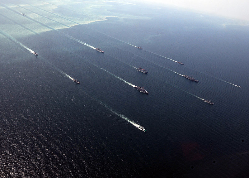 File:Ships in formation during exercise Sea Breeze 2010.jpg