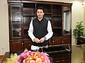 Shri Jitin Prasada took over the charge of the Minister of State for Road Transport & Highways, in New Delhi on January 21, 2011.jpg