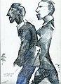 Sie baut mich auf, Nigel Packham Federzeichnung von 1996.jpg
