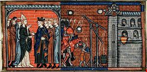 Siege of La Rochelle (1224) - Image: Siege de La Rochelle en 1224