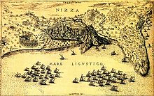 Belagerung von Nizza von 1543 (Quelle: Wikimedia)