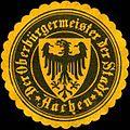 Siegelmarke Der Oberbürgermeister der Stadt - Aachen W0220534.jpg