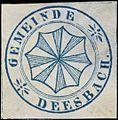 Siegelmarke Gemeinde Deesbach W0338189.jpg