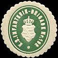 Siegelmarke Königlich Sächsische Infanterie - Brigade Nr. 192 W0237733.jpg