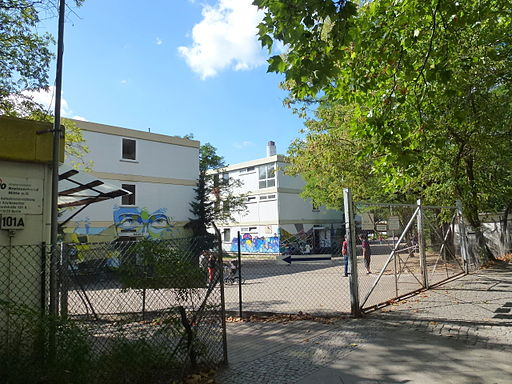 Siemensstadt Motardstraße Asylbewerberheim