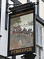 Sign for the Coach and Horses - geograph.org.uk - 738869.jpg